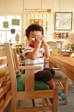 食事用・子ども椅子・2才