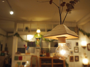 木っぱのランプシェード