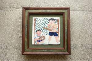 子どもの作品を飾る額縁②