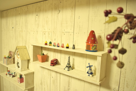majakkaの飾り棚