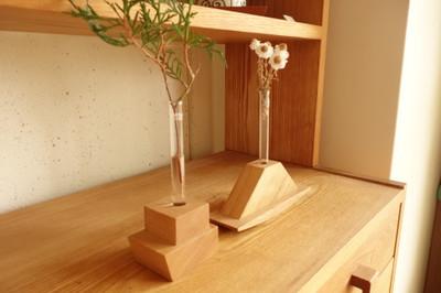 majakka・無垢の木・一輪挿し