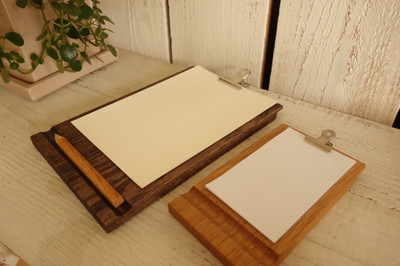 majakka・無垢の木・クリップボード